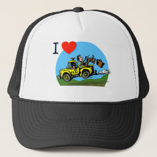 Customize Country Roads Taxi Trucker Hat