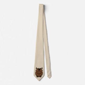 Customize Cute Gnu Tie
