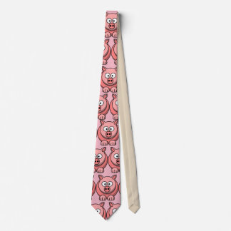 Customize Cute Pig Party Tie