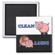 Customize Cutie Cartoon Dishwasher Magnet