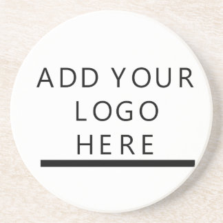 Customize  - Design - Add your logo Sandstone Coaster