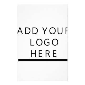 Customize  - Design - Add your logo Customized Stationery