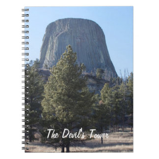 Customize Devil's Tower National Monument photo Spiral Notebooks