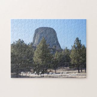 Customize Devil's Tower National Monument photo Jigsaw Puzzle