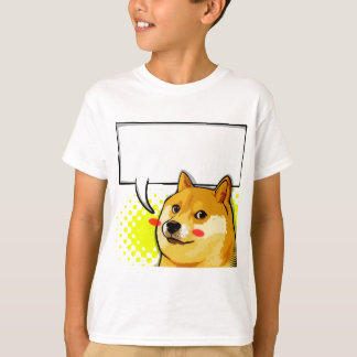 Customize Doge Meme Add Your Own Text Meme T-Shirt