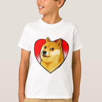 Customize Doge Meme Love Heart T-Shirt