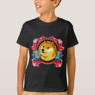 Customize Doge Meme Love With Your Own Text T-Shirt