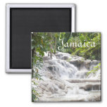 Customize Dunn's River Falls photo 2 Inch Square Magnet