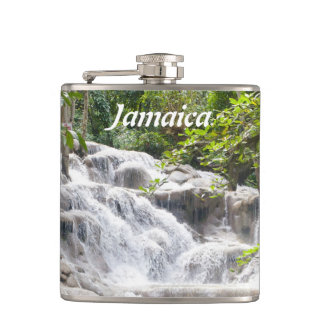 Customize Dunn's River Falls photo Flasks