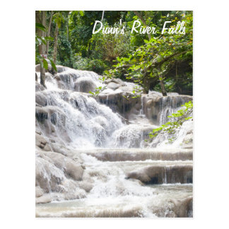 Customize Dunn's River Falls photo Postcards