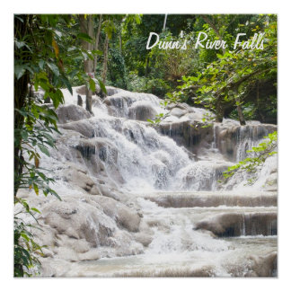 Customize Dunn's River Falls photo Poster