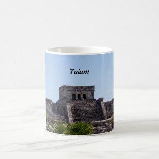 Customize El Castillo de Tulum - Mayan ruins Coffee Mug