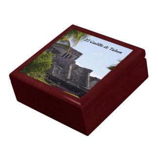 Customize El Castillo de Tulum - Mayan ruins Jewelry Box