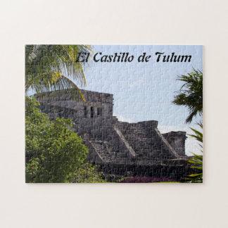 Customize El Castillo de Tulum - Mayan ruins Jigsaw Puzzle
