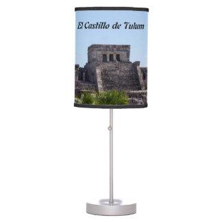 Customize El Castillo de Tulum - Mayan ruins Table Lamp