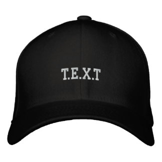 customize embroidered baseball hat