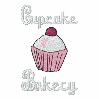 CUSTOMIZE - Embroidered Cupcake Bakery Logo Embroidered Jackets
