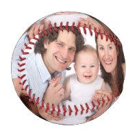 Customize family photo baseball