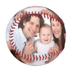 Customize Family Photo Baseball at Zazzle