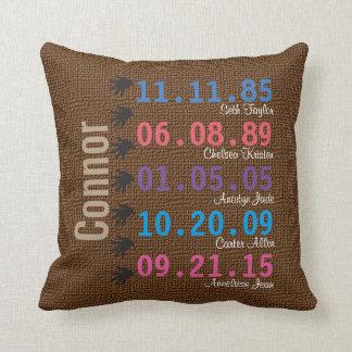 Customize Family Pillow
