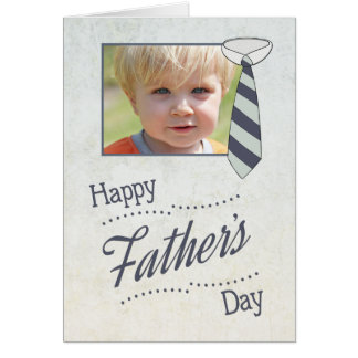 Customize Father's Day with Necktie Card