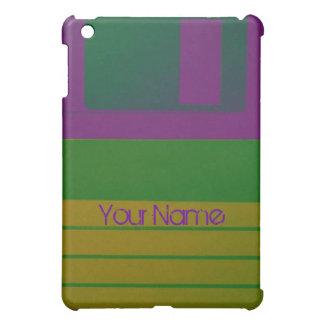 Customize Floppy Disc Personalize Retro iPad Mini Cover