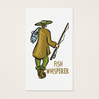 Customize Fly Fishing Business Card