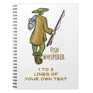 Customize Fly Fishing Spiral Notebook