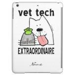 Customize Fun Vet Tech Extraordinaire iPad Air Cover