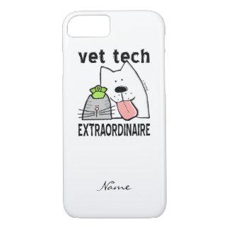 Customize Fun Vet Tech Extraordinaire iPhone 7 Case