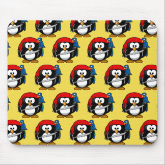 Customize Funny Pirate Pinguin by storeman Mouse Pad