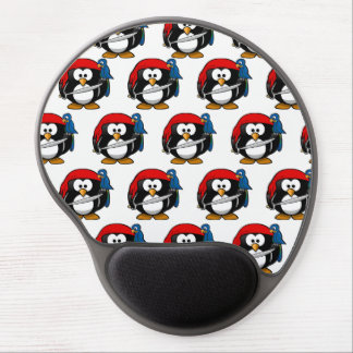 Customize Funny Pirate Pinguin Gel Mouse Pad