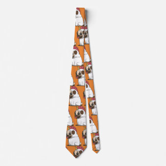 Customize Funny Unicorn - Doggycorn Neck Tie
