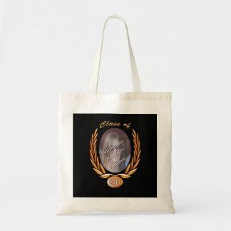 (Customize) Graduating Class of Photo Frame Budget Tote Bag