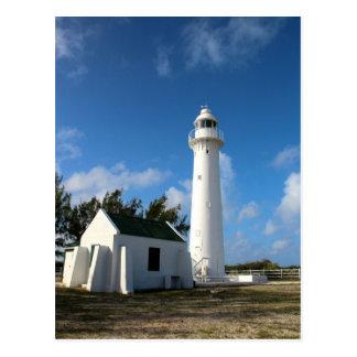 Customize Grand Turk Lighthouse photo Postcard