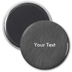 Customize Gray Animal Fur Magnet at Zazzle