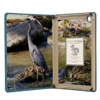 Customize Great Blue Heron standing in creek photo iPad Mini Retina Covers