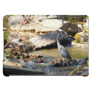 Customize Great Blue Heron standing in creek photo iPad Air Cases