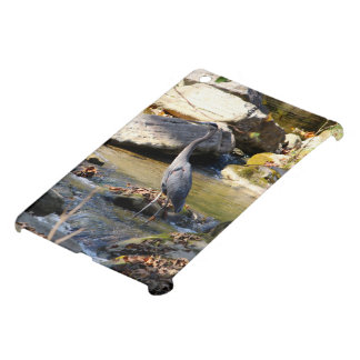 Customize Great Blue Heron standing in creek photo Case For The iPad Mini