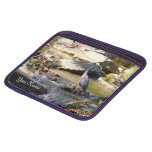Customize Great Blue Heron standing in creek photo Sleeve For iPads