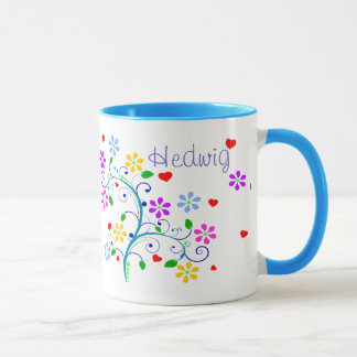 Customize - Hedwig Flower Cup - We *Heart* You