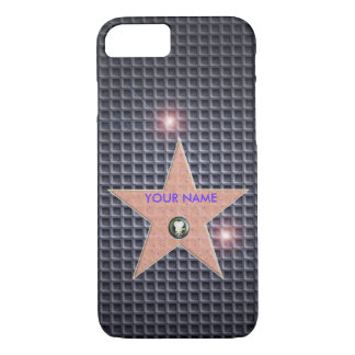 CUSTOMIZE HOLLYWOOD STAR POPULAR TEMPLATE CARBON iPhone 8/7 CASE