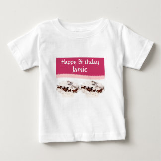 Customize Horse Birthday Invitations and Cards Baby T-Shirt