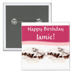 Customize Horse Birthday Invitations and Cards Pins