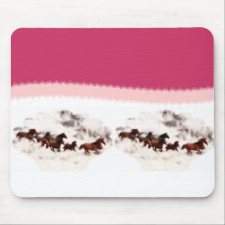 Customize Horse Birthday Invitations and Cards Mouse Pad