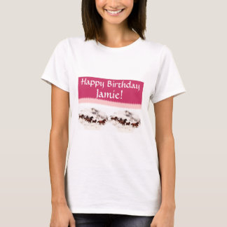 Customize Horse Birthday Invitations and Cards T-Shirt