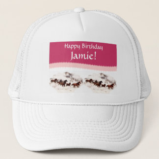Customize Horse Birthday Invitations and Cards Trucker Hat