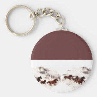 Customize Horse Party Invitations and Cards Keychain