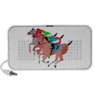 Customize Horse Racing  Design Portable Speakers