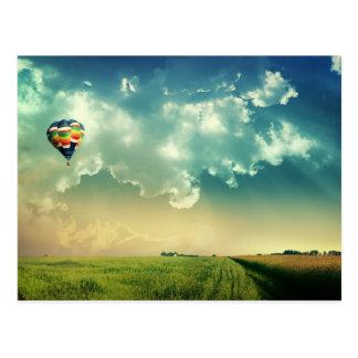 Customize Hot Air Balloon Postcard